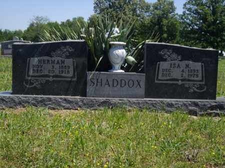 SHADDOX, HERMAN - Boone County, Arkansas | HERMAN SHADDOX - Arkansas Gravestone Photos