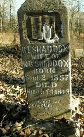 SHADDOX, R.I. - Boone County, Arkansas | R.I. SHADDOX - Arkansas Gravestone Photos