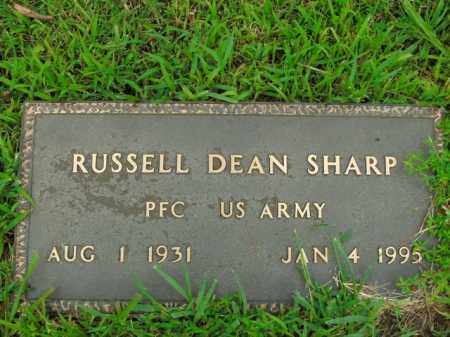 SHARP  (VETERAN), RUSSELL DEAN - Boone County, Arkansas | RUSSELL DEAN SHARP  (VETERAN) - Arkansas Gravestone Photos