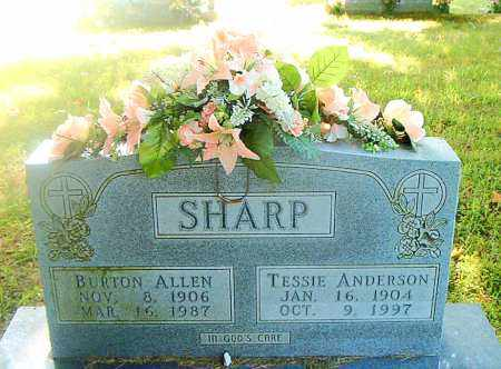 SHARP, BURTON ALLEN - Boone County, Arkansas | BURTON ALLEN SHARP - Arkansas Gravestone Photos