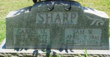 SHARP, CARRIE M - Boone County, Arkansas | CARRIE M SHARP - Arkansas Gravestone Photos
