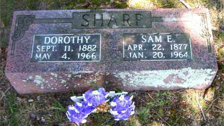 SHARP, SAM  E. - Boone County, Arkansas | SAM  E. SHARP - Arkansas Gravestone Photos