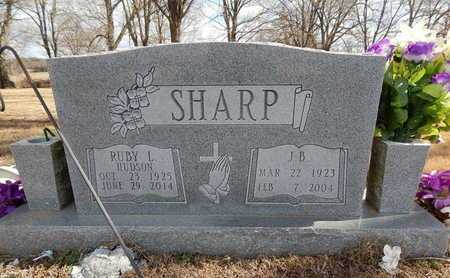 SHARP, J. B. - Boone County, Arkansas | J. B. SHARP - Arkansas Gravestone Photos