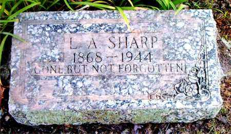 SHARP, L.  A - Boone County, Arkansas | L.  A SHARP - Arkansas Gravestone Photos