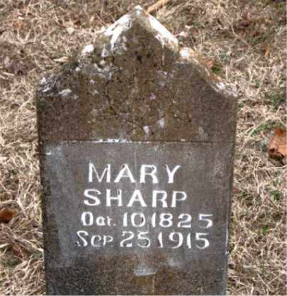 SHARP, MARY - Boone County, Arkansas | MARY SHARP - Arkansas Gravestone Photos