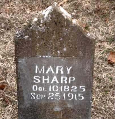 SHARP, MARY - Boone County, Arkansas | MARY SHARP - Arkansas Gravestone Photos