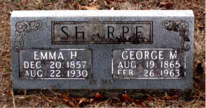 SHARPE, GEORGE M. - Boone County, Arkansas | GEORGE M. SHARPE - Arkansas Gravestone Photos