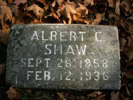SHAW, ALBERT C. - Boone County, Arkansas | ALBERT C. SHAW - Arkansas Gravestone Photos