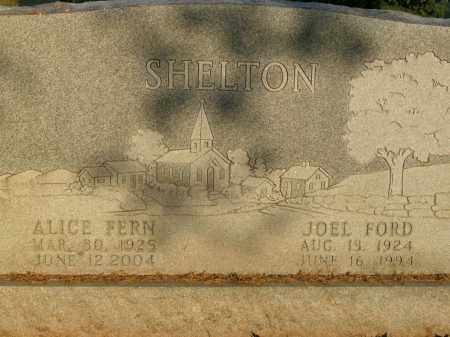 SHELTON, JOEL FORD - Boone County, Arkansas | JOEL FORD SHELTON - Arkansas Gravestone Photos