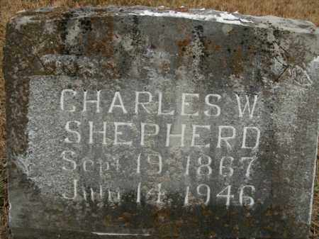 SHEPHERD, CHARLES WILLIAM - Boone County, Arkansas | CHARLES WILLIAM SHEPHERD - Arkansas Gravestone Photos