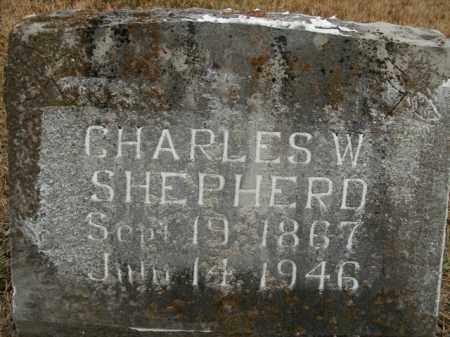 SHEPHERD, CHARLES WILLIAM - Boone County, Arkansas   CHARLES WILLIAM SHEPHERD - Arkansas Gravestone Photos