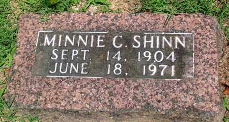 SHINN, MINNIE C - Boone County, Arkansas | MINNIE C SHINN - Arkansas Gravestone Photos