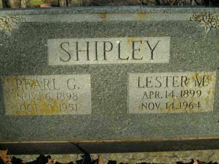 SHIPLEY, LESTER M. - Boone County, Arkansas | LESTER M. SHIPLEY - Arkansas Gravestone Photos