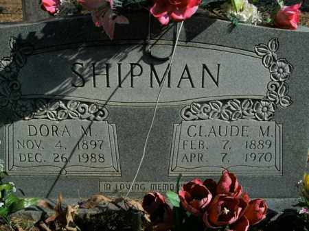 SHIPMAN, CLAUDE M. - Boone County, Arkansas | CLAUDE M. SHIPMAN - Arkansas Gravestone Photos