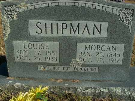 SHIPMAN, MORGAN - Boone County, Arkansas | MORGAN SHIPMAN - Arkansas Gravestone Photos