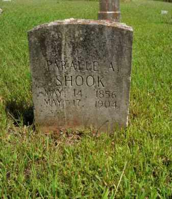 SHOOK, PARALLE A. - Boone County, Arkansas | PARALLE A. SHOOK - Arkansas Gravestone Photos