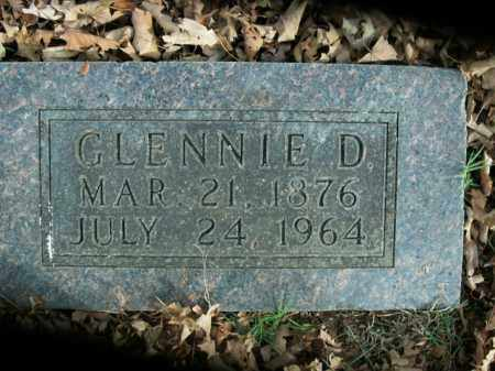 SHORT, GLENNIE D. - Boone County, Arkansas | GLENNIE D. SHORT - Arkansas Gravestone Photos