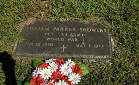 SHOWERS  (VETERAN WWII), WILLIAM PARKER - Boone County, Arkansas | WILLIAM PARKER SHOWERS  (VETERAN WWII) - Arkansas Gravestone Photos
