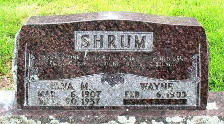 WISE SHRUM, ELVA  M - Boone County, Arkansas | ELVA  M WISE SHRUM - Arkansas Gravestone Photos