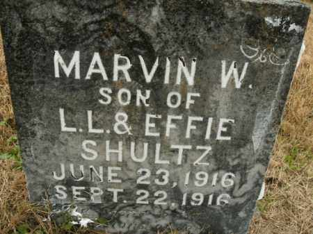 SHULTZ, MARVIN W. - Boone County, Arkansas | MARVIN W. SHULTZ - Arkansas Gravestone Photos
