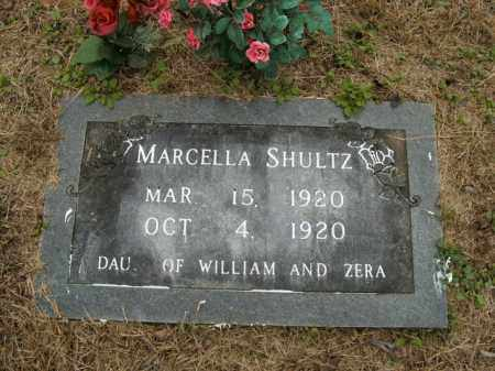 SHULTZ, MARCELLA - Boone County, Arkansas | MARCELLA SHULTZ - Arkansas Gravestone Photos