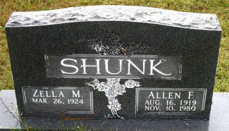 SHUNK, ALLEN F - Boone County, Arkansas | ALLEN F SHUNK - Arkansas Gravestone Photos