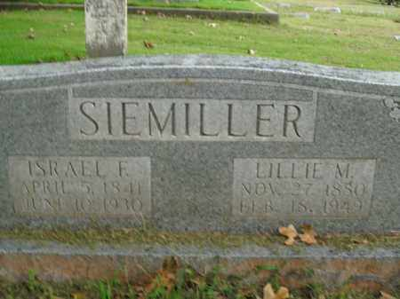 SIEMILLER, ISRAEL F. - Boone County, Arkansas | ISRAEL F. SIEMILLER - Arkansas Gravestone Photos