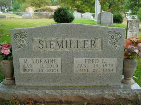 SIEMILLER, FRED L. - Boone County, Arkansas | FRED L. SIEMILLER - Arkansas Gravestone Photos