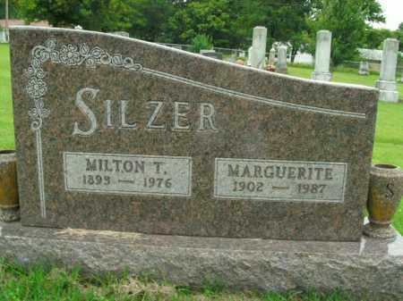 SILZER, MARGUERITE - Boone County, Arkansas | MARGUERITE SILZER - Arkansas Gravestone Photos