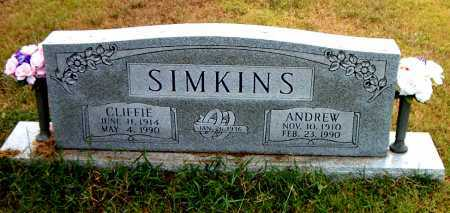 SIMKINS, CLIFFIE - Boone County, Arkansas | CLIFFIE SIMKINS - Arkansas Gravestone Photos