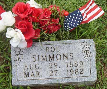 SIMMONS, ROE - Boone County, Arkansas | ROE SIMMONS - Arkansas Gravestone Photos