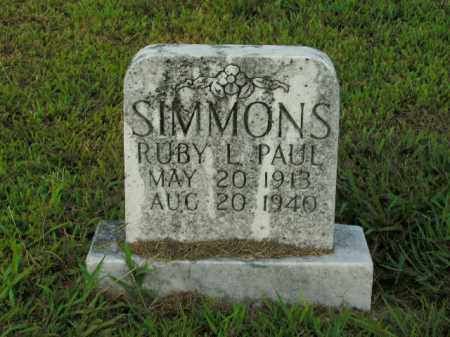SIMMONS, RUBY L. - Boone County, Arkansas | RUBY L. SIMMONS - Arkansas Gravestone Photos