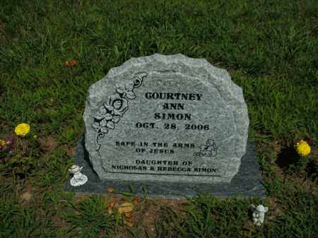 SIMON, COURTNEY ANN - Boone County, Arkansas | COURTNEY ANN SIMON - Arkansas Gravestone Photos