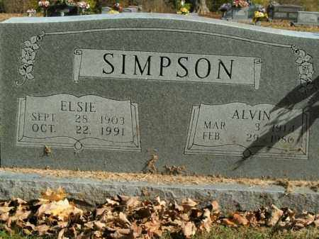 SIMPSON, ALVIN - Boone County, Arkansas | ALVIN SIMPSON - Arkansas Gravestone Photos
