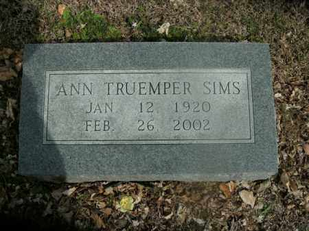 SIMS, ANN - Boone County, Arkansas | ANN SIMS - Arkansas Gravestone Photos