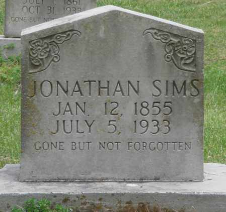 SIMS, JONATHAN - Boone County, Arkansas | JONATHAN SIMS - Arkansas Gravestone Photos