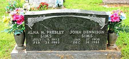 SIMS, JOHN DENNISON - Boone County, Arkansas | JOHN DENNISON SIMS - Arkansas Gravestone Photos