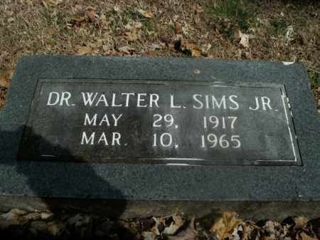 SIMS, JR, WALTER L. - Boone County, Arkansas | WALTER L. SIMS, JR - Arkansas Gravestone Photos