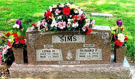 SMITH SIMS, LENA H. - Boone County, Arkansas | LENA H. SMITH SIMS - Arkansas Gravestone Photos
