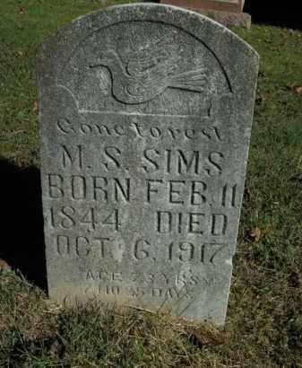 SIMS, M.S. - Boone County, Arkansas | M.S. SIMS - Arkansas Gravestone Photos