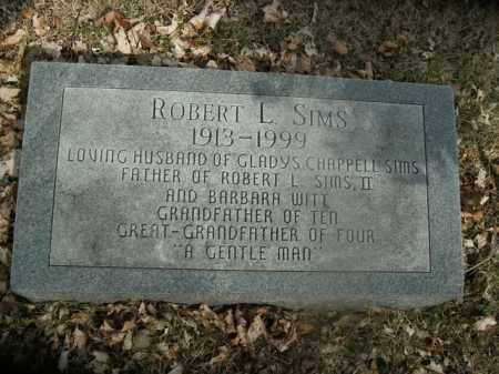 SIMS, ROBERT L. - Boone County, Arkansas | ROBERT L. SIMS - Arkansas Gravestone Photos