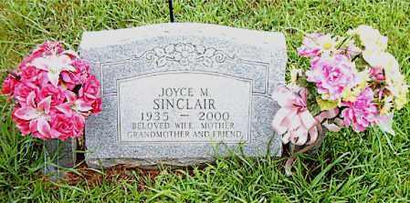 SINCLAIR, JOYCE  M. - Boone County, Arkansas | JOYCE  M. SINCLAIR - Arkansas Gravestone Photos