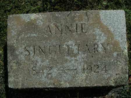 SINGLETARY, ANNIE - Boone County, Arkansas | ANNIE SINGLETARY - Arkansas Gravestone Photos