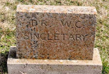 SINGLETARY, WILLIAM COY (DR) - Boone County, Arkansas | WILLIAM COY (DR) SINGLETARY - Arkansas Gravestone Photos