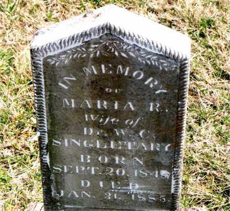 SINGLETARY, MARIA  R. - Boone County, Arkansas | MARIA  R. SINGLETARY - Arkansas Gravestone Photos