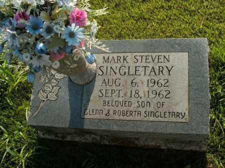 SINGLETARY, MARK STEVEN - Boone County, Arkansas | MARK STEVEN SINGLETARY - Arkansas Gravestone Photos