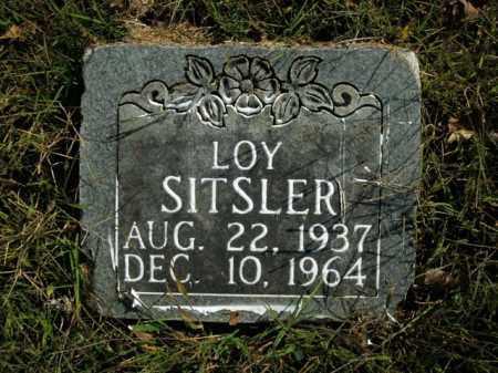 SITSLER, LOY - Boone County, Arkansas | LOY SITSLER - Arkansas Gravestone Photos