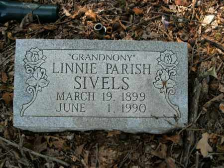 PARISH SIVELS, LINNIE - Boone County, Arkansas | LINNIE PARISH SIVELS - Arkansas Gravestone Photos