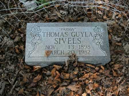 SIVELS, THOMAS GUYLA - Boone County, Arkansas | THOMAS GUYLA SIVELS - Arkansas Gravestone Photos