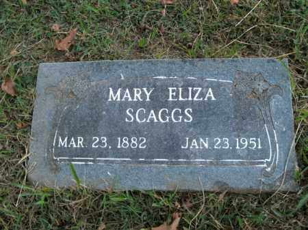 SKAGGS, MARY ELIZA - Boone County, Arkansas | MARY ELIZA SKAGGS - Arkansas Gravestone Photos